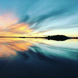 sunset on Narraguinnep 2