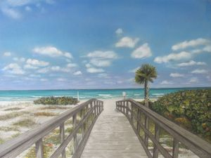 Beach Walkway at Indian Shores