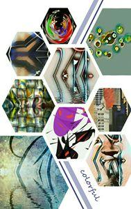Singleton M. Tate's Art Collage