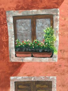 Window in Old San Miguel - Rosemary Ramsey