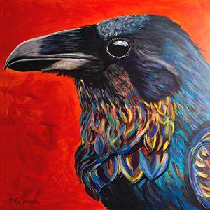 Glistening Raven