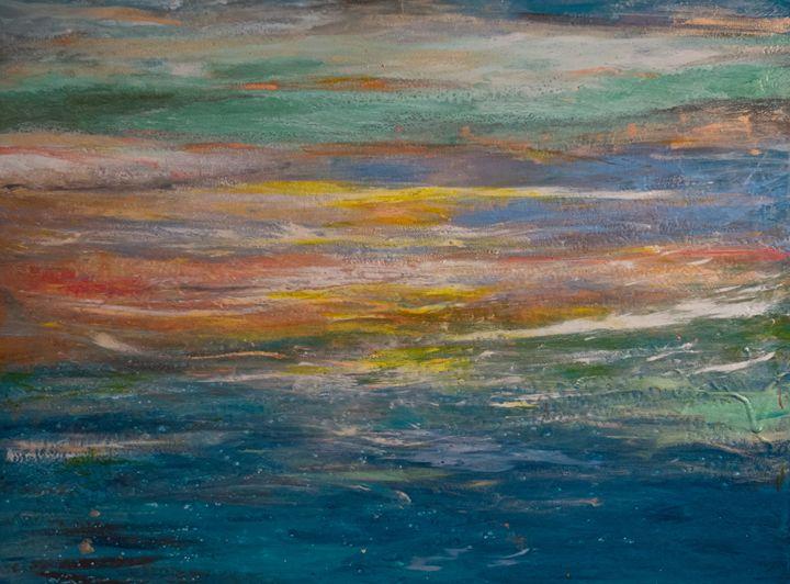 """Carli's Beach View"" - DM GRACE Gallery"