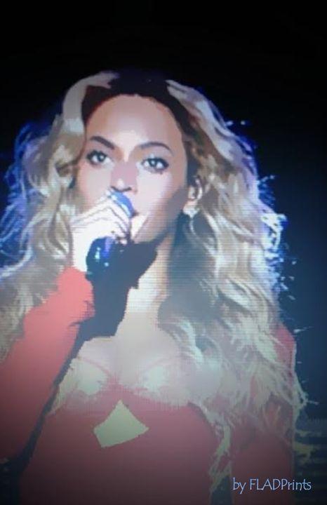 Beyonce Animated - FLADPrints