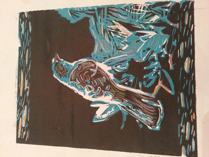 Bird Abstract - Tracey Bernard Mathis Jr.
