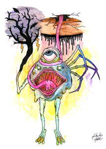Original Creature #3 Flash Art