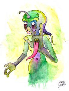 Original Creature #2 Flash Art