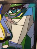 Stained Glass Leonardo DiCaprio