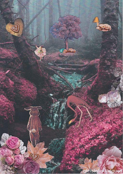 conte de forêt - christelle jacques