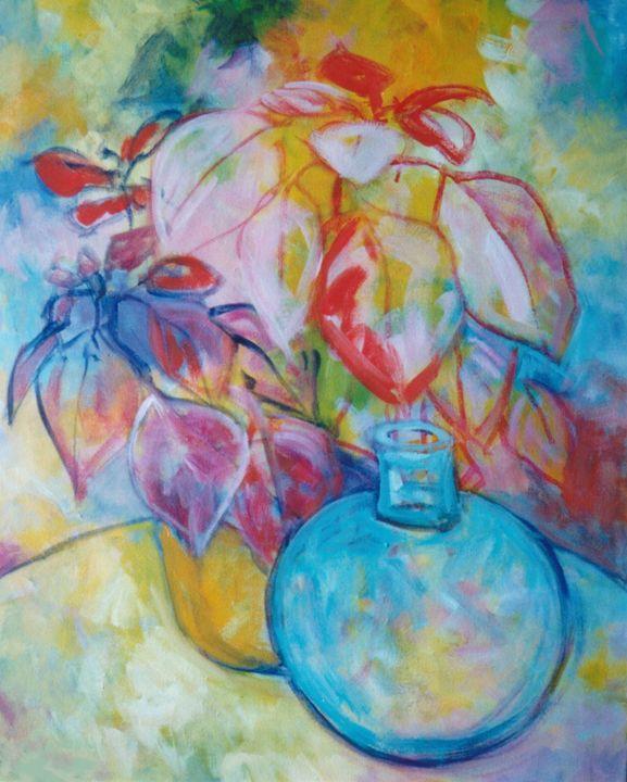 BLUE BOTTLE - Brazilian Painter