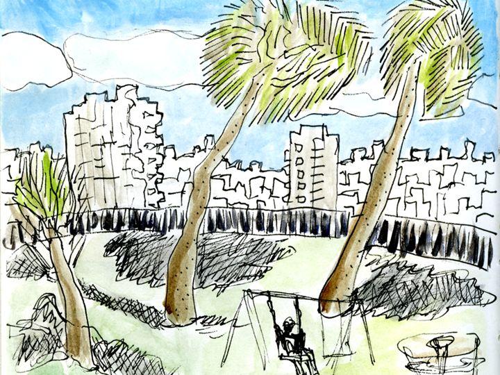 city skyline - Liat Visual