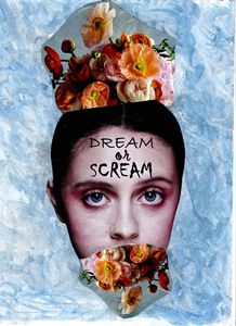 Dream or Scream Mixed Media Print