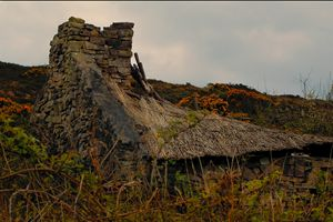 Old Irish Thatched cottage