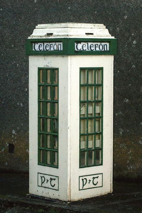 Old  Irish P&T Phone cabin - Photowitch