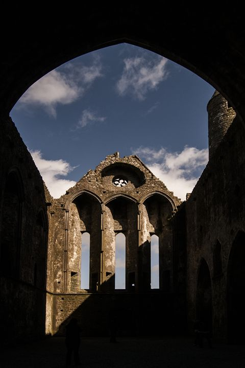 Ruin of a church - Photowitch