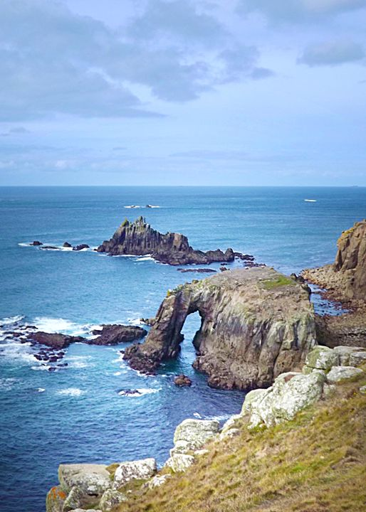 Seascape Lands End Cornwall - Linsey Williams