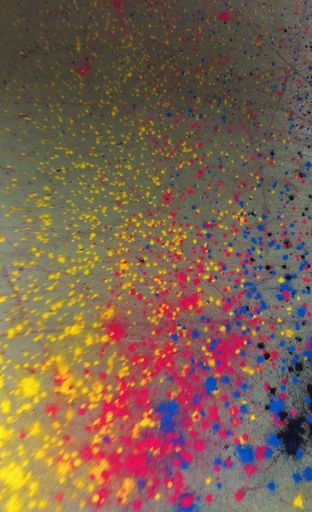 La galaxie colorée - Cher