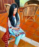 Maaira, Oil painting on Canvas