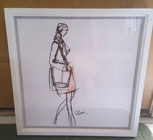 Signed Original Fashion Etching - One of a Kind Designs