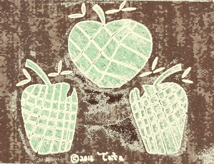 Bamboo Trio Apples Two - Tata Kimfa