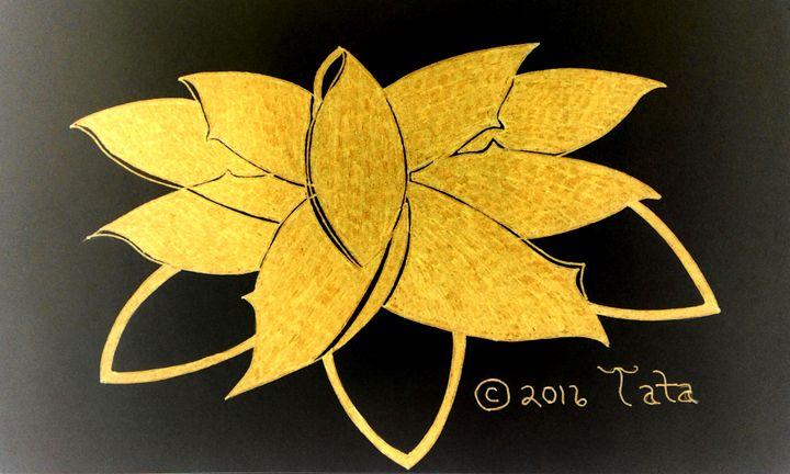 Lotus Bow Tie - Tata Kimfa
