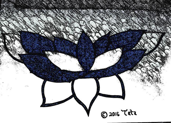 Shimmering Lotus Butterfly Three - Tata Kimfa