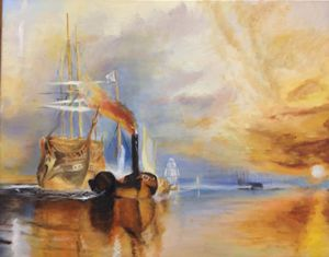 The Last Temeraire (Reproduction)