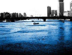 From Days The Nile Was Blue...