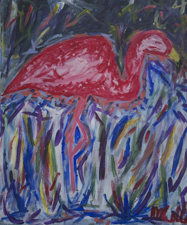 Friday Flamingo - Amanda Meriwether