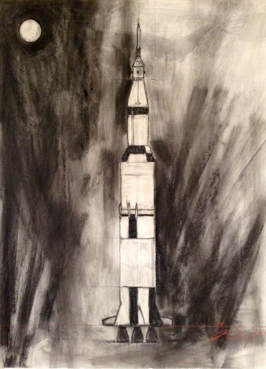 Saturn V - Andrew Downey