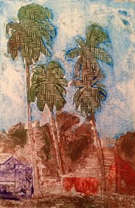 3 palms in color
