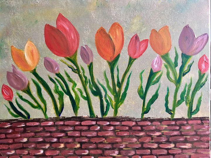 Dancing tulips - Love for Art