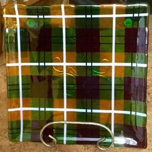 Forever Plaid Serving Dish