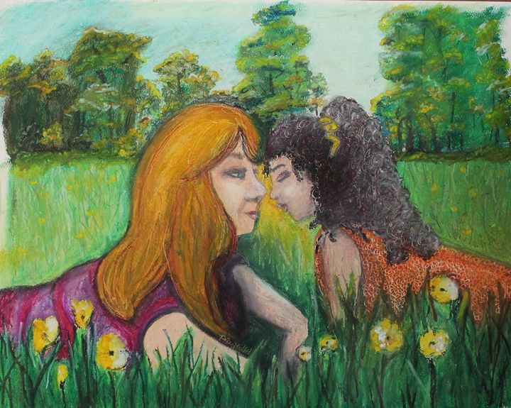 In the Grass - Daphne Layne Fine Art