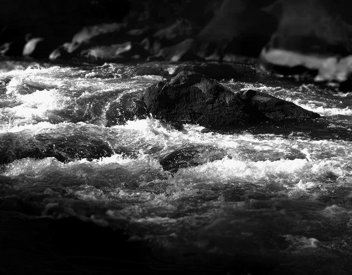 """""""Deschutes river rock"""" - The Photography of Michael C Bertsch"""