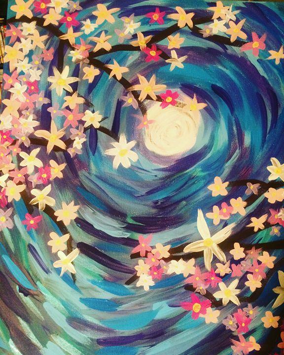 Midnight flowers - Cassmeetsworld