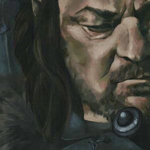 Eddard Stark, big portrait - detail