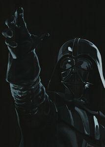 Live size Darth Vader - detail