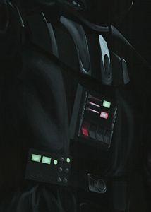 Live size Drath Vader - detail