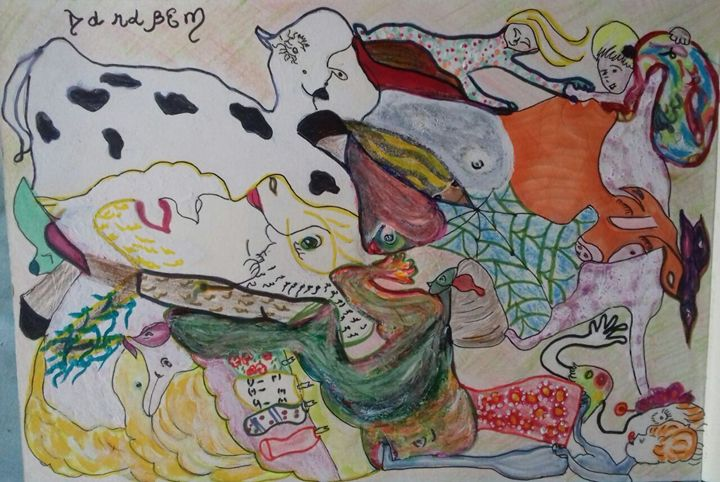 Figures in the empty space - Darabem artist