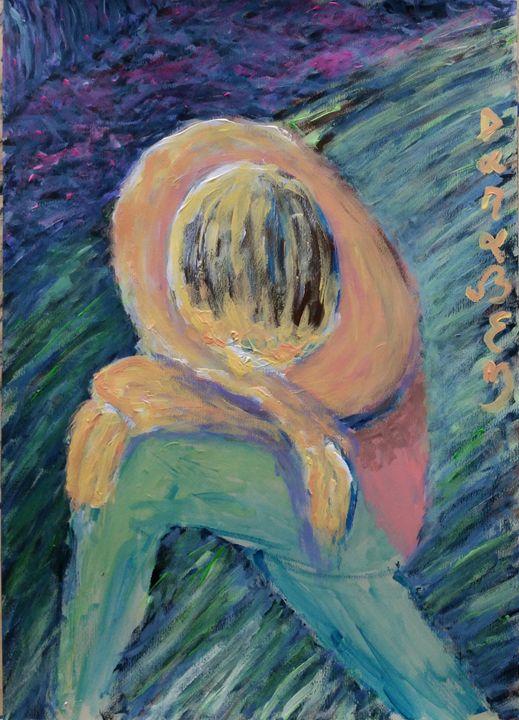 Thinking about my feelings in landsc - Darabem artist