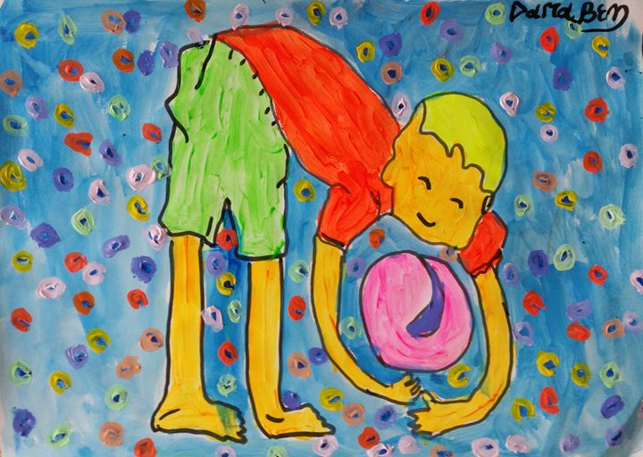 Ball (and) boy II - Darabem artist