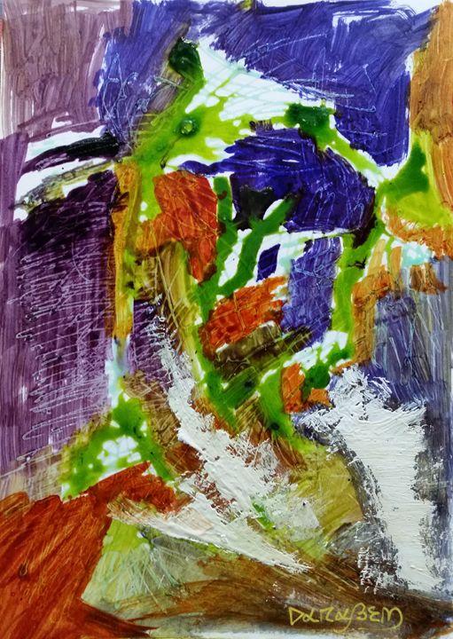 Figures in the city I - Darabem artist
