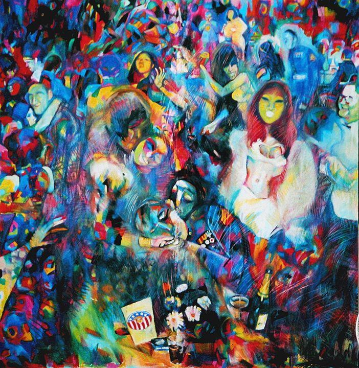 Celebrated July 4th 1972 in Saigon. - VietNam_Modern Art