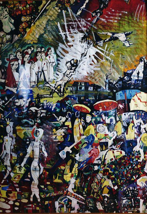 Xmas Bombing in Hanoi - VietNam_Modern Art