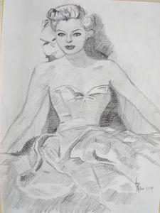 Lady Seated in Gown