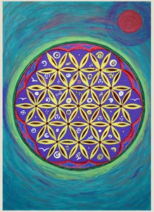 [EXPENSIVE] Flower Of Life SacredArt