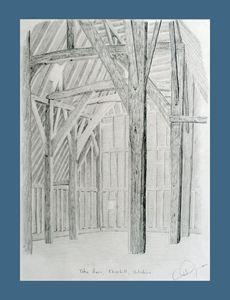 Tithe barn sketch
