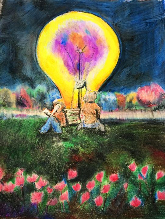Illuminate2 - Peculiar art by Nate