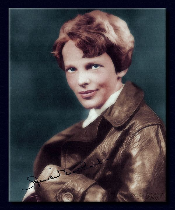 Amelia Earhart - Richard Gerhard