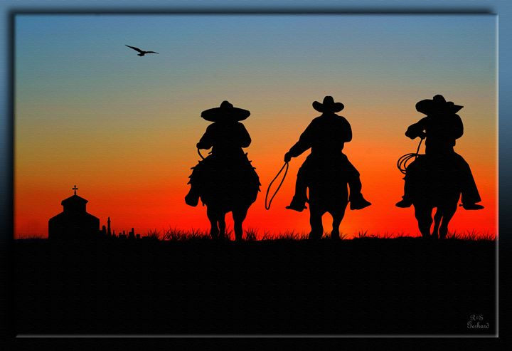 The Comancheros - Richard Gerhard